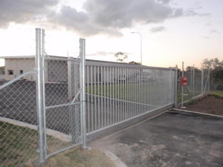 Shelta Access Systems Automatic Industrial Security Gates