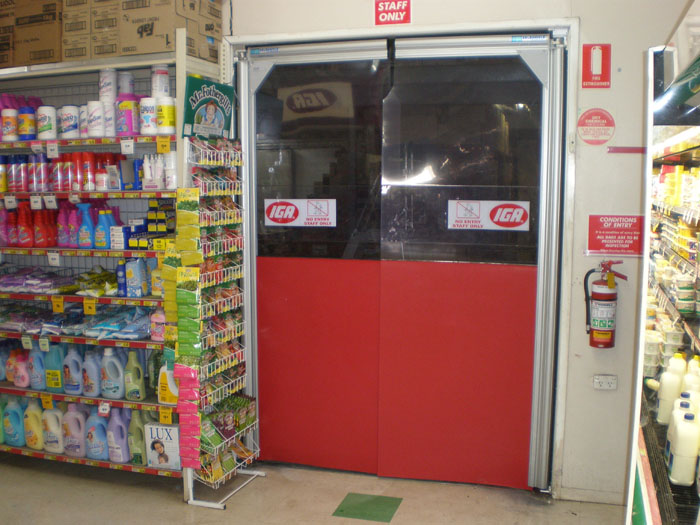 Shelta Access Systems Industrial Swing Doors